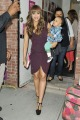 "Tia Mowry and baby Cree stop in at the ""Wendy Williams Show"" in New York City where she debuted both her new baby and new book ""Oh Baby"""